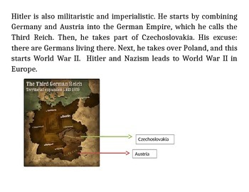 World War II: The Entire Collection  (250 Pages of Readings/Activities)