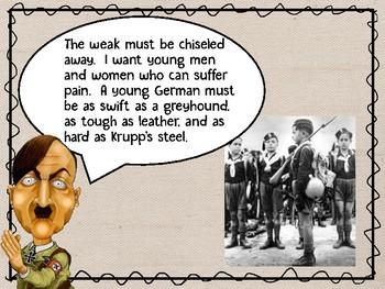 Hitler Youth Movement and Girls League Power Point Presentation, World War II