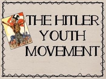 Hitler Youth Movement and Girls League Power Point Present