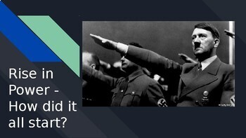 Hitler Youth, Night, and WWII Background Introduction