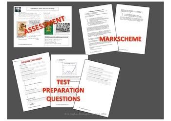 Hitler and Nazi Germany Test, Test Prep and mark scheme DBQ