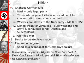Hitler and the Nazi Party