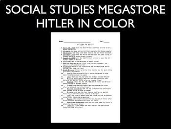 Hitler in Colour Video Guide