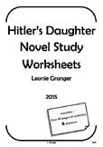 Hitler's Daughter Novel Study