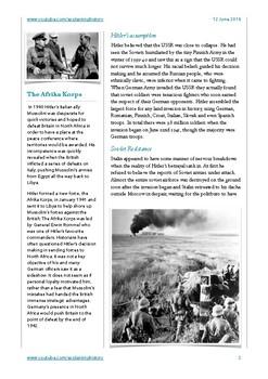 Hitler's War Part Two: 1940-41