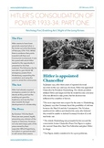 Hitler's Consolidation Of Power Part One