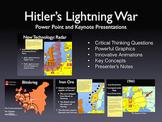 WW2 Hitler's Lightning War 1939-1941 Keynote/PowerPoint Pr
