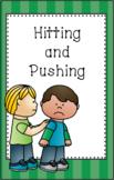 Hitting and Pushing Mini Social Story Set