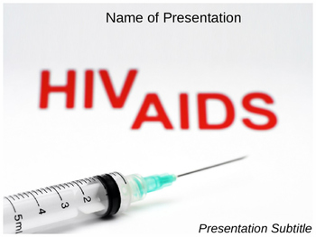 Hiv Aids PPT Template