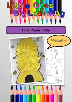 Hive Paper Plate