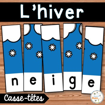 Hiver - French Winter -18 puzzles
