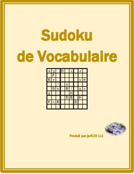 Hiver (Winter in French) Sudoku