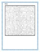 Hiver (Winter in French) wordsearch for differentiated learning