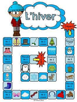 Hiver - jeu de société - French Winter board game