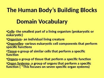 Hmmmm...What About the Human Body?