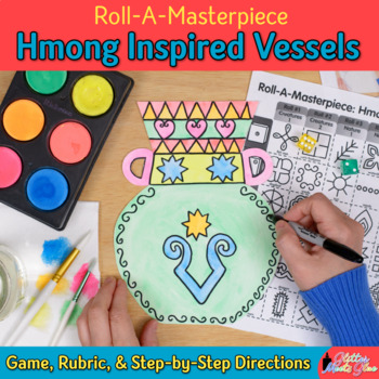 Art Lesson: Hmong Art History Game {Art Sub Plans for Teachers}