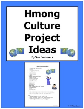 Hmong Culture Research Project Ideas