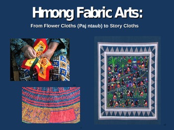 Hmong Story Cloths
