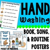 Hand Washing Routine, Book, Posters, & Song