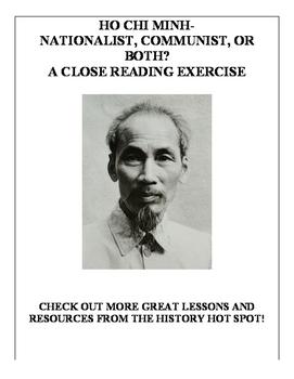 Ho Chi Minh-Nationalist, Communist, or Both? A Close Readi