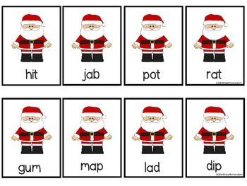 Ho, Ho, Ho  -A CVC and Digraph Word Game