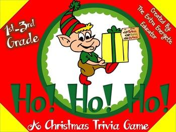 Ho! Ho! Ho!: A Christmas Trivia Game {Primary}