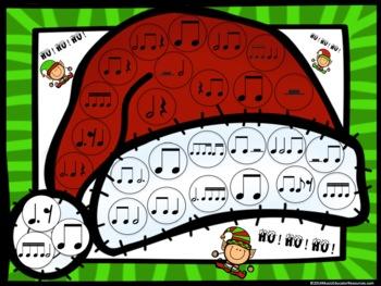 Ho! Ho! Ho! (A Rhythm Bump It Game)