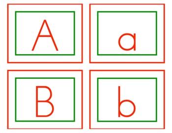 Ho Ho Ho ABCs Alphabet Game