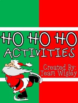 Ho Ho Ho Activities