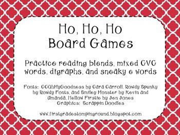 Ho Ho Ho Board Games