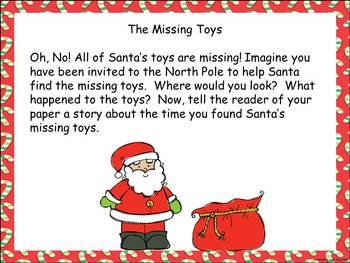 Ho! Ho! Ho! December Writing Prompts