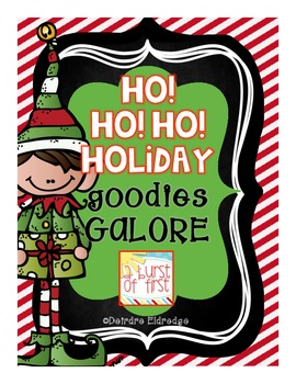 Ho! Ho! Ho! Holiday Goodies Galore- 10 Engaging Activities