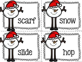 Ho! Ho! Ho!: Ink Friendly Literacy Centers
