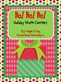 Ho! Ho! Ho! Holiday Math Centers
