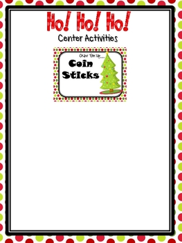Ho! Ho! Ho! Holiday Math Centers
