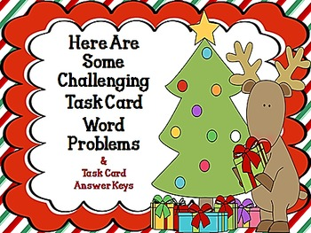 Ho! Ho! Ho! Merry Christmas!  It's Time for Some Two-Step Word Problems 3.OA.8