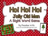 Ho! Ho! Ho! Jolly Old Man Sight Word Board Game