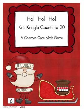 Ho!  Ho!  Ho!  Kris Kringle Counts to 20