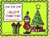 Ho! Ho! Ho! Missing Addends Math Center