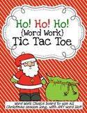Ho! Ho! Ho! Word Work Tic-Tac-Toe