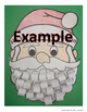 Ho Ho Ho Word and Beginning Letter Christmas Santa Claus Activity