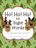 Ho! Ho! Ho! for Sight Words