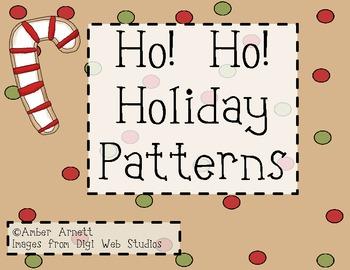 Ho! Ho! Holiday Patterns