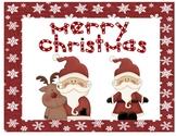 Ho Ho Merry  Christmas Posters
