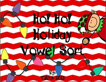 Ho!Ho! Holiday Vowel Sort