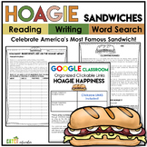 Word Search Puzzles | Close Reading Passage about the Hoagie Sandwich