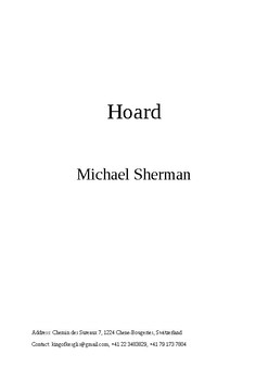 Hoard - the opening of a novel