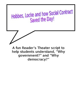 Hobbes, Locke and how Social Contract Saved the Day!
