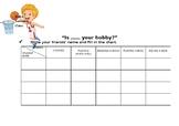 Hobbies Chart