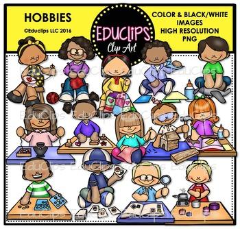 Hobbies Clip Art Bundle {Educlips Clipart}